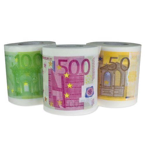 Geld Toilettenpapier