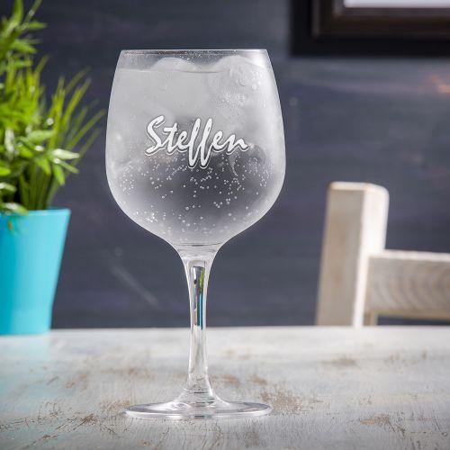 Gin Glas - Namensgravur