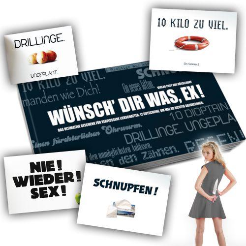 Gutscheinbuch für Ex - Wünsch Dir was