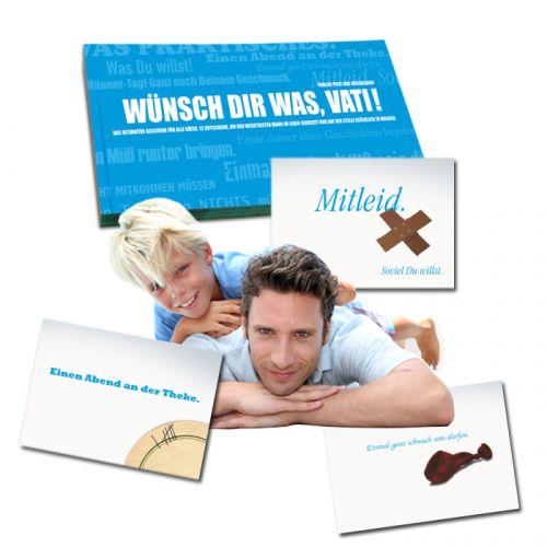 Gutscheinbuch für Väter - Wünsch Dir was!