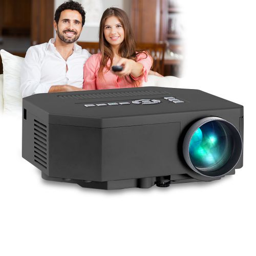 HD Mini LED Beamer mit Media Player