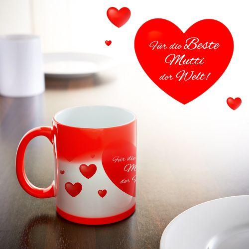 Herz Tasse - Beste Mutti