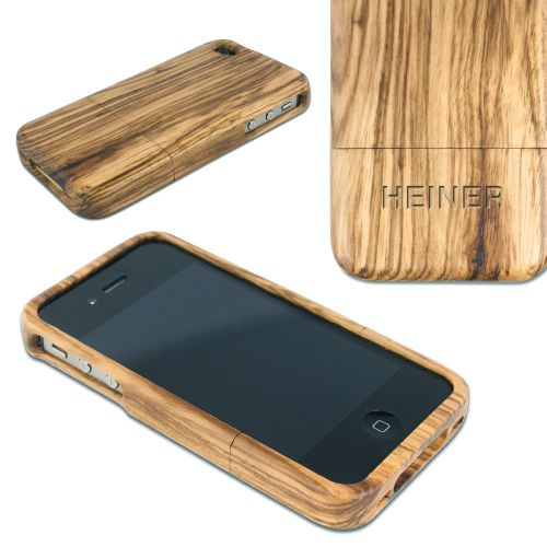 iPhone Hülle aus Echtholz