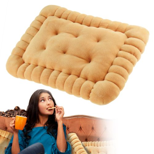 Coussin biscuit