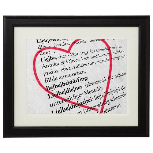 Liebesdefinition personalisiertes Bild