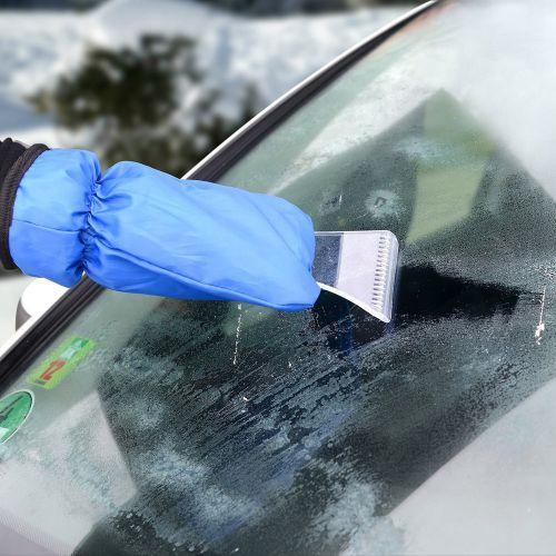 Grattoir à glace de luxe avec gant