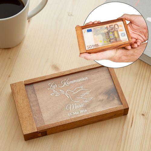 Magische Geldgeschenkbox zur Kommunion