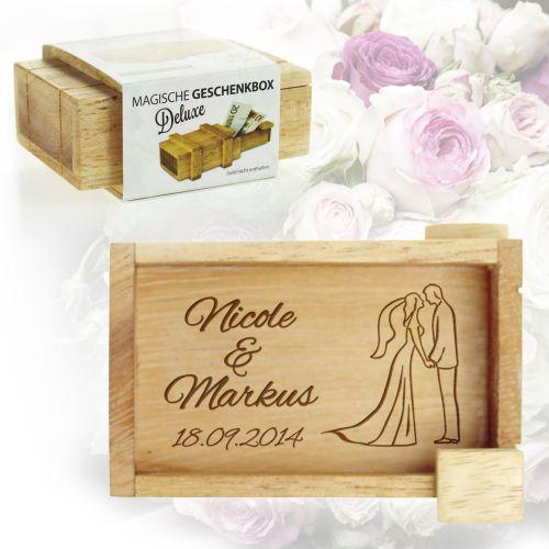 Boîte QI magique deluxe pour le mariage – silhouette