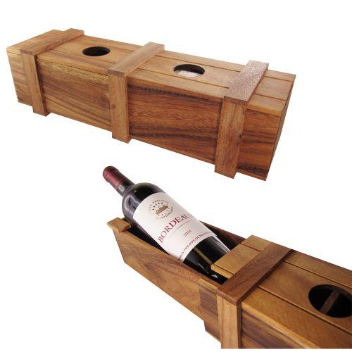 Magische Weinverpackung