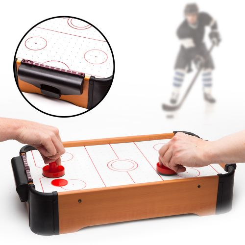 Table d'air hockey miniature