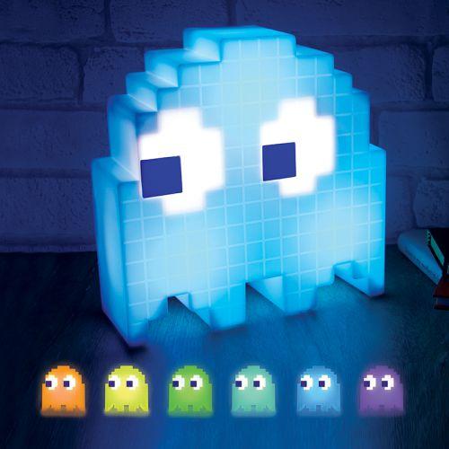 Pac Man Lampe mit LED Farbwechsel