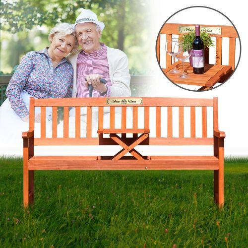 personalisierte hochzeitsbank zur diamantenen hochzeit. Black Bedroom Furniture Sets. Home Design Ideas