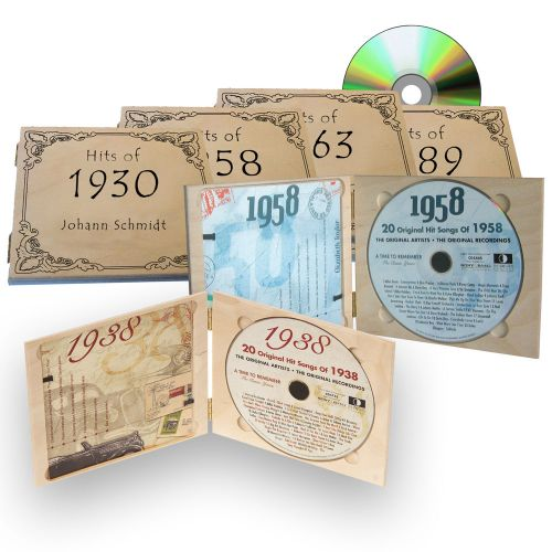 Personalisierte Jahreshits CD