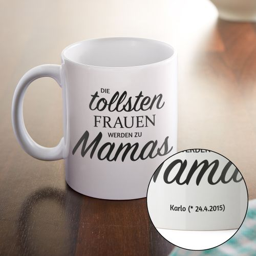 personalisierte tasse bef rderung zur mama mit deinem druck. Black Bedroom Furniture Sets. Home Design Ideas