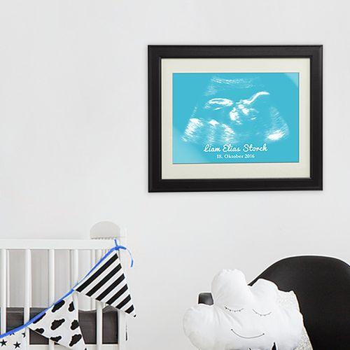 Personalisiertes Ultraschallbild - Junge