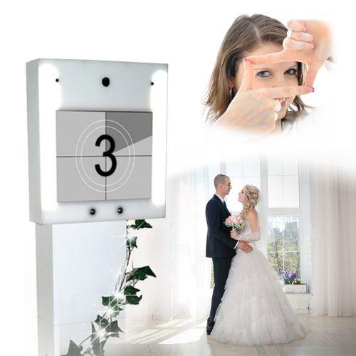 Personalisiertes Video Gästebuch zur Hochzeit - Deluxe