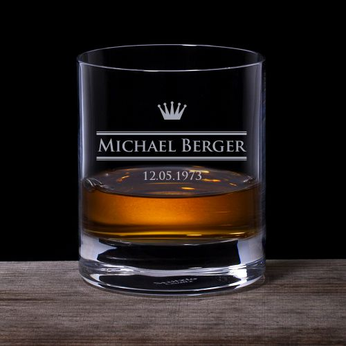 Personalisiertes Whiskyglas Royal