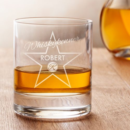 Personalisiertes Whiskyglas Star of Fame