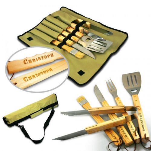 Set accessoires de barbecue premium