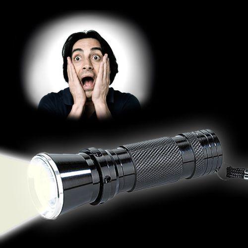 Premium Taschenlampe mit Power LED