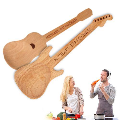 Salatbesteck Gitarren