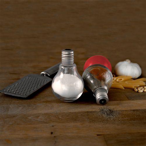 Nützlichküchenaccessoires - Salz und Pfeffer Streuer Glühbirnen - Onlineshop Monsterzeug