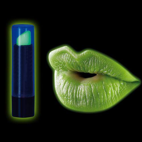 Schwarzlicht Lippenstift fluoreszierende Farbe