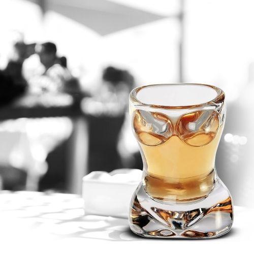 Sexy Schnapsglas