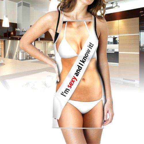 Witziglustigebekleidung - Sexy Schürze für Frauen - Onlineshop Monsterzeug