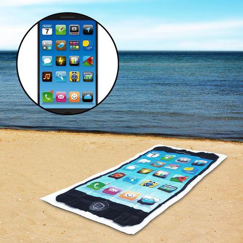 Drap de plage smartphone
