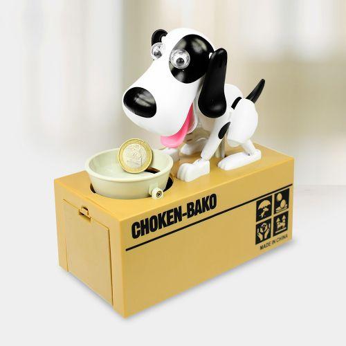 Sparbüchse Hungriger Hund