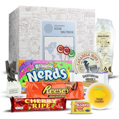 Süße Weltreise Geschenkbox