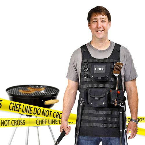 Tactical Grillschürze für Männer