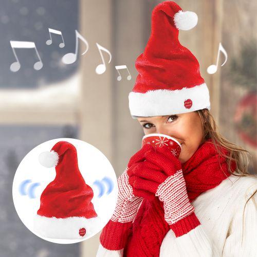 Tanzende und Singende Weihnachtsmütze