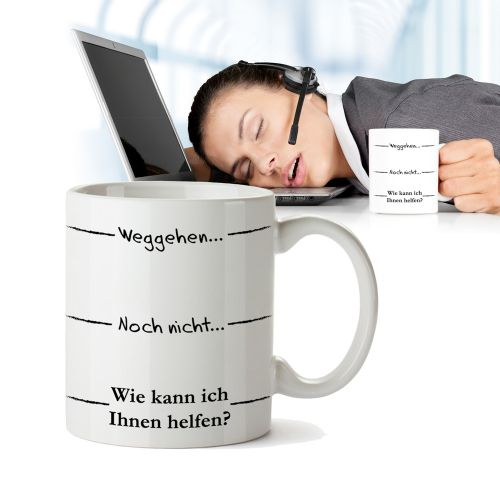 lustige tasse mit stimmungsbarometer druck f r kaffeejunkies. Black Bedroom Furniture Sets. Home Design Ideas
