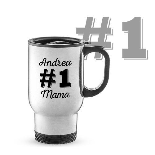 Thermobecher personalisiert Nummer 1 Mama