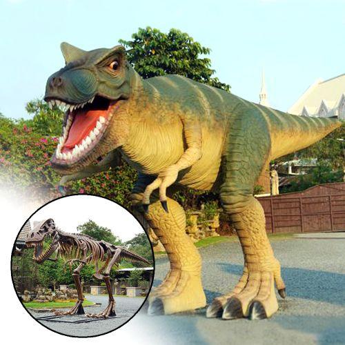 Tyrannosaurus Rex lebensgroß