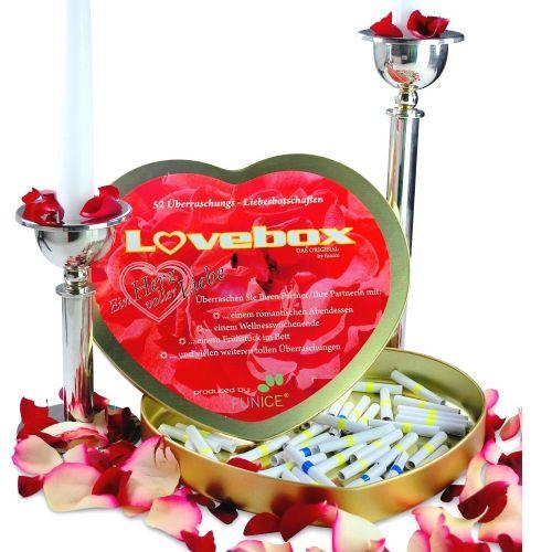 Überraschungs-Lovebox für Verliebte