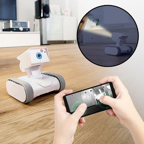 Überwachungsroboter mit Kamera internetgesteuert