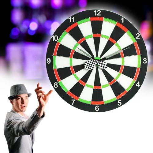 Wanduhr dart scheibe edle glasuhr f r dartfans for Edle dekoartikel