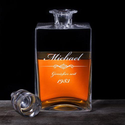 Whisky Karaffe Deluxe mit Gravur