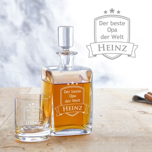 Whisky Set Deluxe - Bester Opa