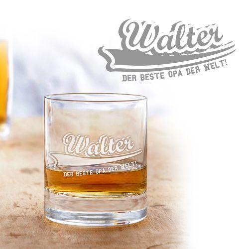 Whiskyglas College Motiv - Bester Opa