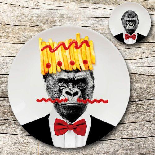 Wilder Teller Gorilla