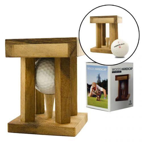 Woods Handicap - Golf Rätsel und Holzknobelspiel