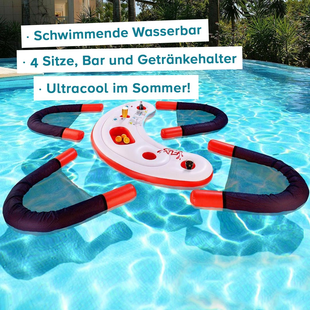 Schwimmende Wasser-Bar - 2