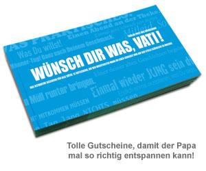 Gutscheinbuch für Väter - Wünsch Dir was! - 2
