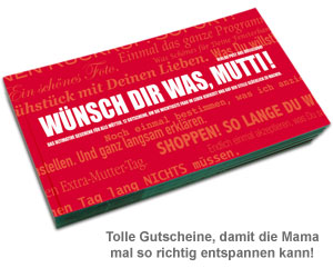 Gutscheinbuch für Mütter - Wünsch Dir was! - 2
