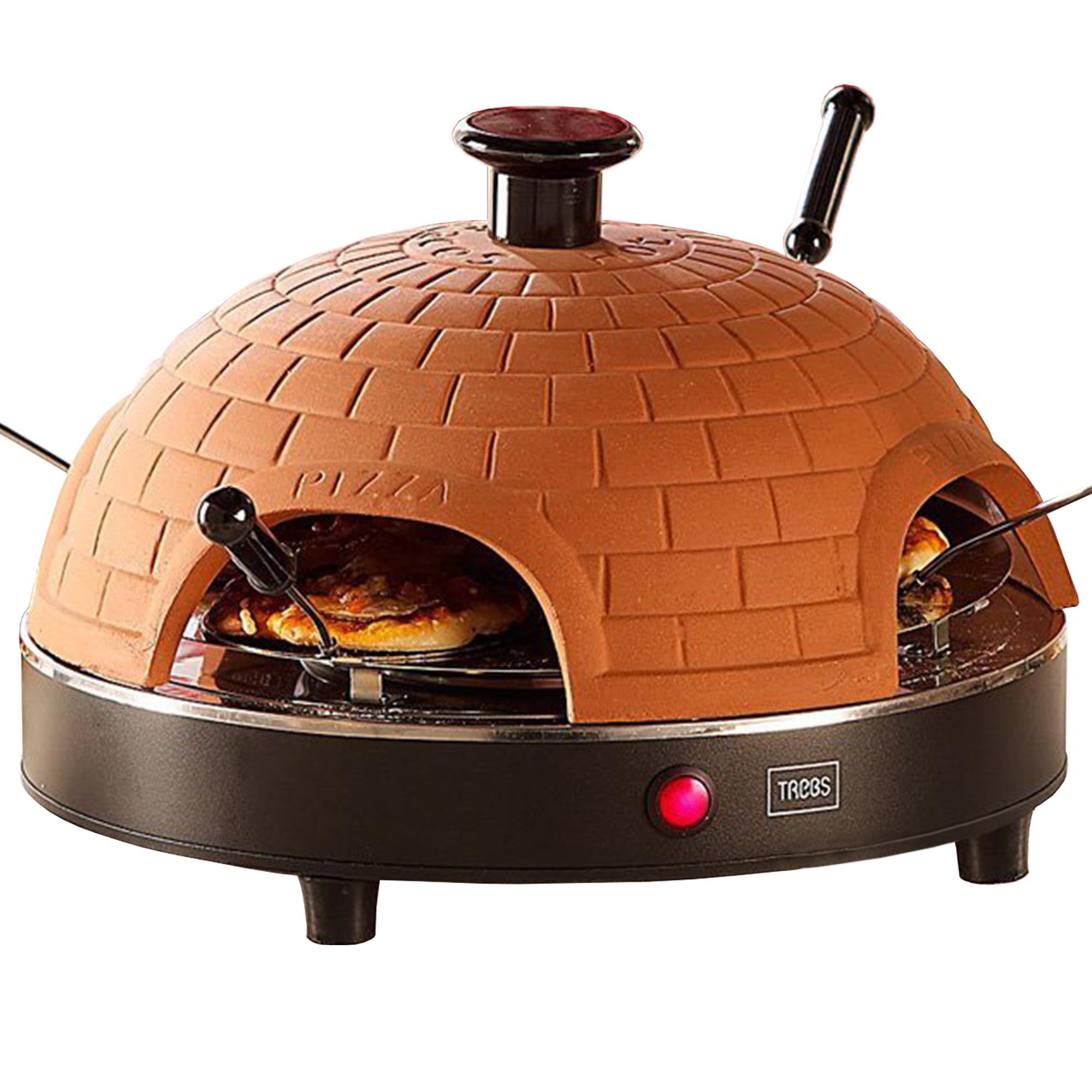Mini Pizza Stein-Ofen - 4