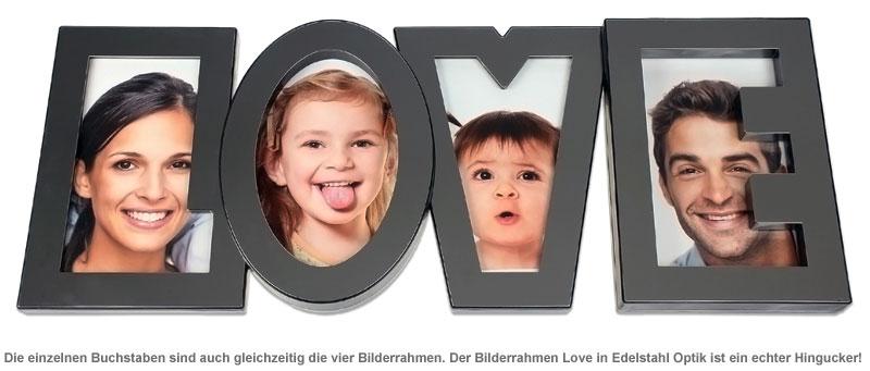 Bilderrahmen Love - 2